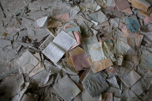 Exercise books, Pripyat