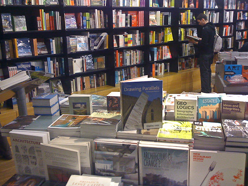 Drawing Parallels by Quintin Lake in the Tate Modern Bookshop