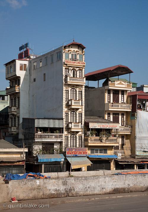 Tube Houses Or Rocket Buildings Of Vietnam Geometry