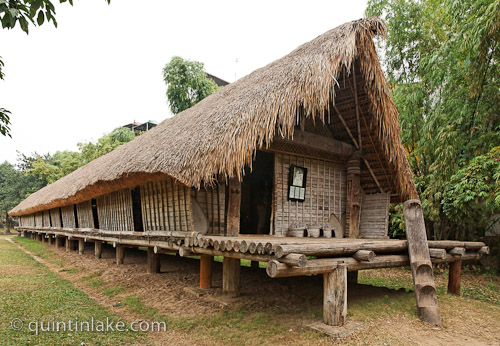 Ede Long House Vietnamese Museum Of Ethnology Hanoi