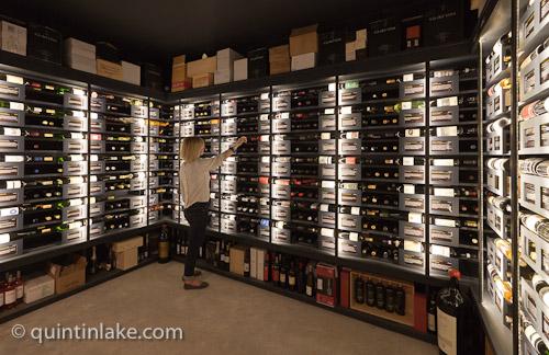 wine storage systems design