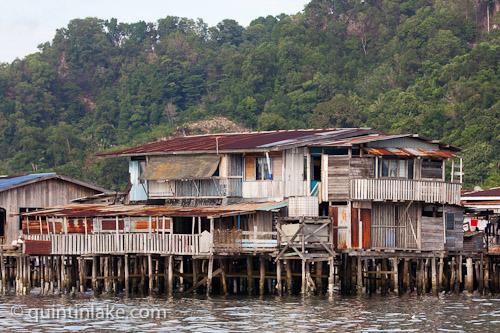Photographs of Sandakan Water Village Sabah Malaysia