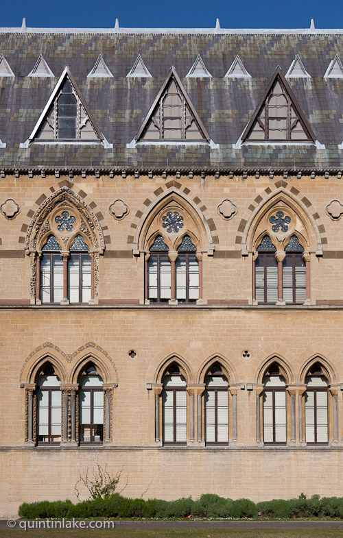 Unfinished Sculpture On The Facade Of The Oxford University ...
