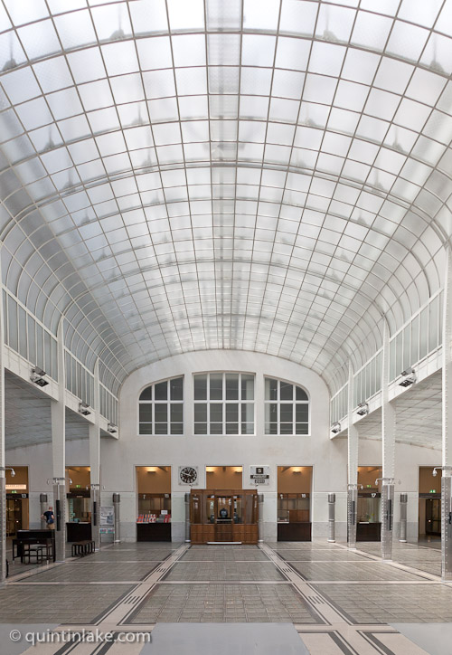 Delight Details Of Vienna Savings Bank By Otto Wagner
