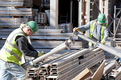Measuring concrete form work