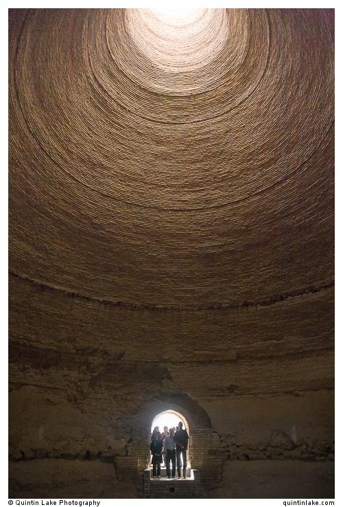 Ice house or Yakhchal Iran Geometry & Silence