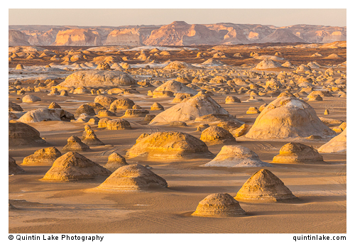 "Moments before sunset at El-Khiyam ""The Tents"",  Sahara Beida (White Desert), Egypt"