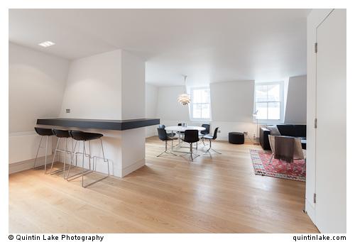 Market Mews Apartment, London. Architect: CF Moller