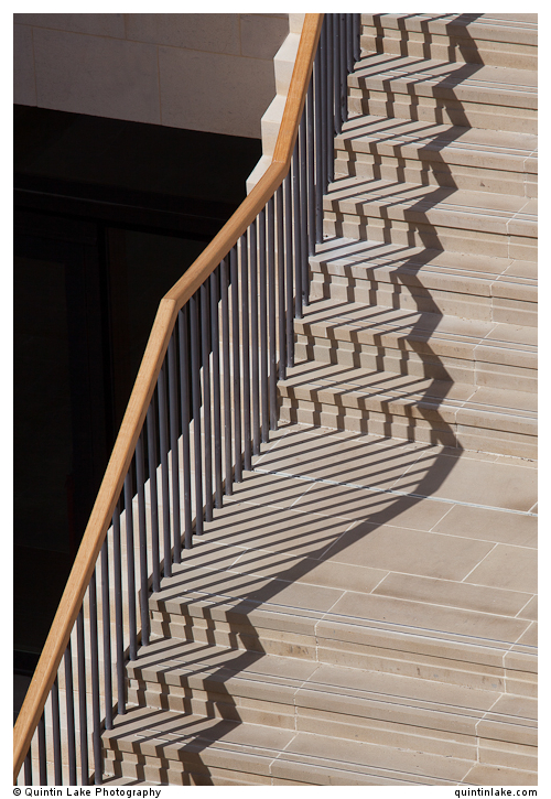 Cascading stairs in the Rokos Quad