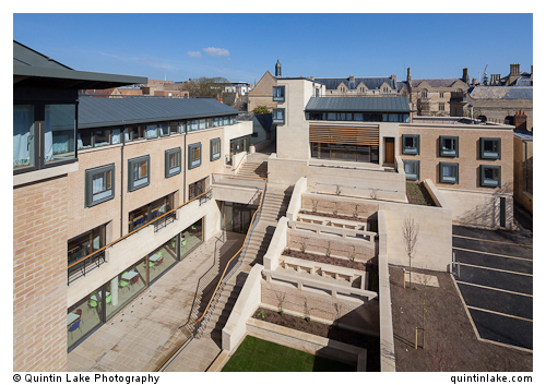 The Harold H W Lee Building & the Rokos Quad