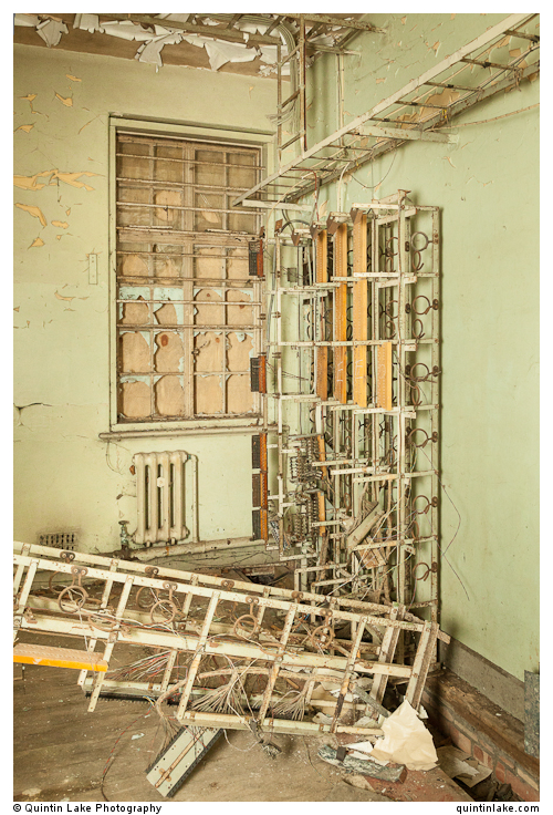 Switchboard, Operations Block.. Building 146