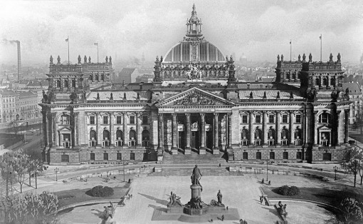 Reichstag building, 1930's
