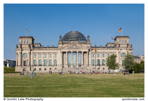 Reichstag West Facade July 2013