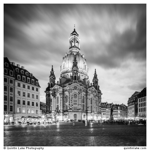 The rebuilt Dresden Frauenkirche. July 2013