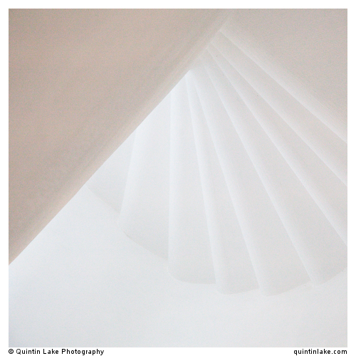 Subtle light on the stairs of the Frauenkirch