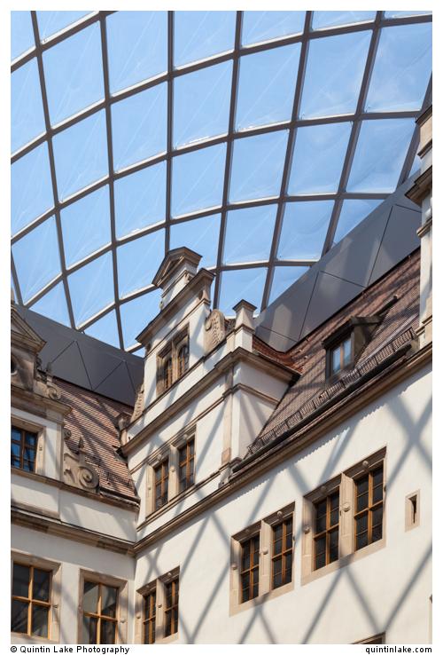 Inner Courtyard Of Dresden Castle Geometry Amp Silence