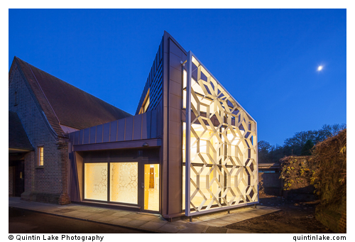 Medway Crematorium, Kent, UK. New Chapel by Clay Architecture, 2