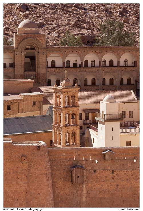 Bell tower (left) & Mosque Minaret (right)