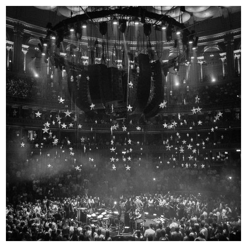Mila Furstova and Coldplay, Royal Albert Hall, London, 2nd July