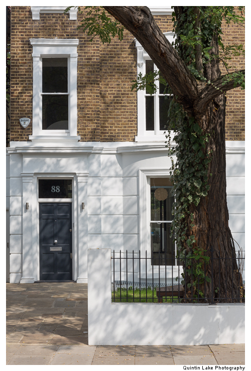 88 Westbourne Grove, London. Architect: James Wyman