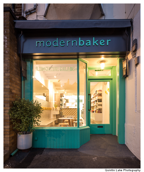 Modern Baker, Summertown, Oxford. Architect: James Wyman