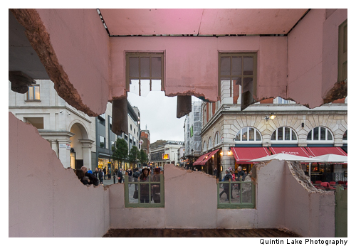 Take my Lightning but Don't Steal my Thunder,  Alex Chinneck,