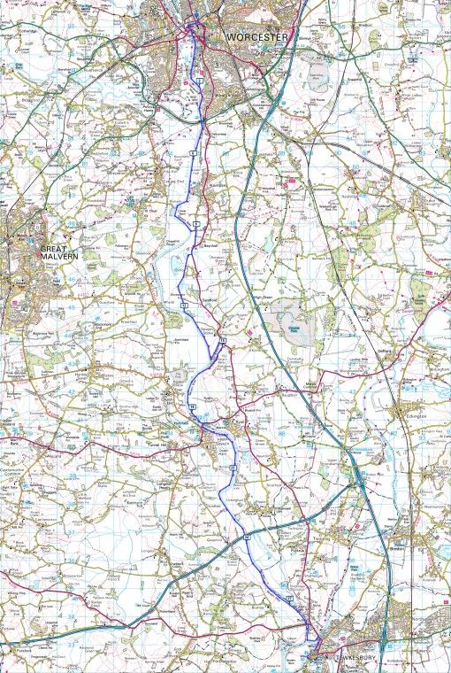 10 Worcester to Tewkesbury