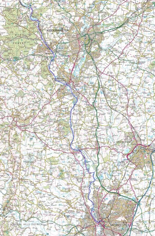 Upper Arley to Worcester
