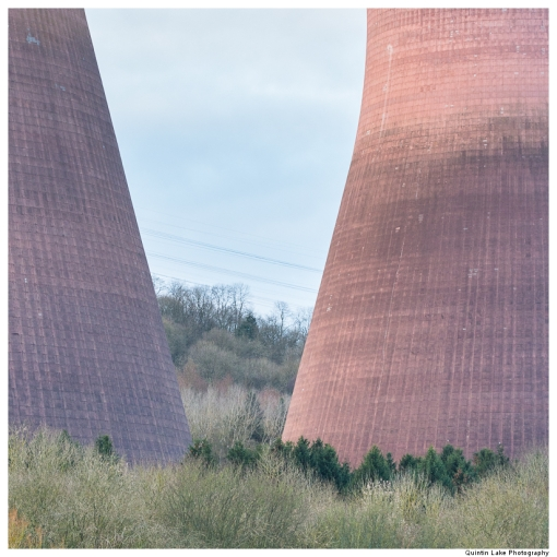 Ironbridge Power Station Cooling Towers. Severn Way. Ironbridge