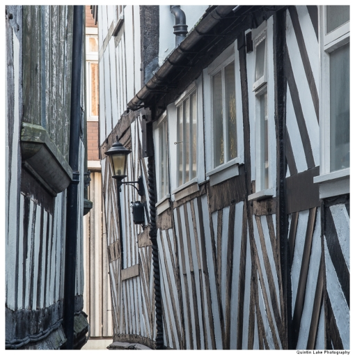 Tudor half-timbered houses of Shrewsbury, Shropshire, England