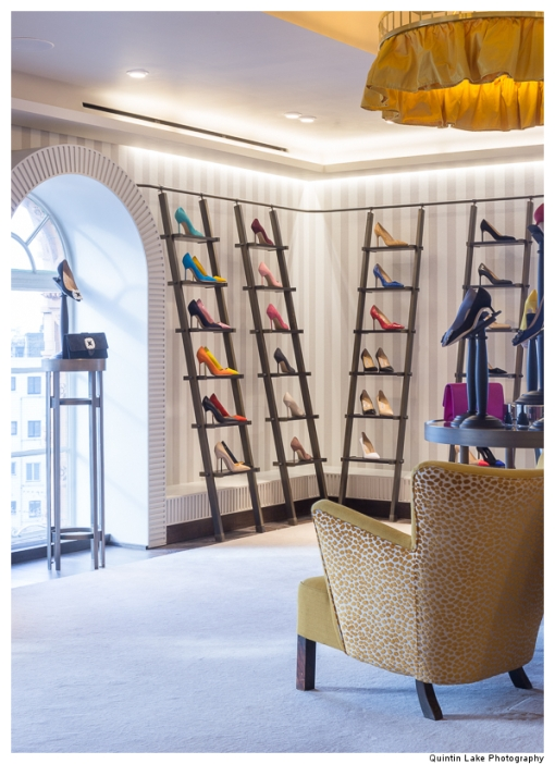 Manolo Blahnik, Harrods, 2015. Nick Leith-Smith, Architecture & Design