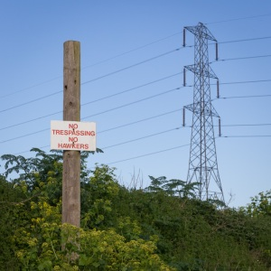 No Trespassing. No Hawkers. Dartford.