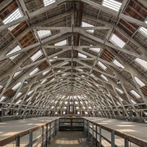No. 3 slip, The Historic Dockyard Chatham II. One of Europe's widest span structures when constructed in 1838.