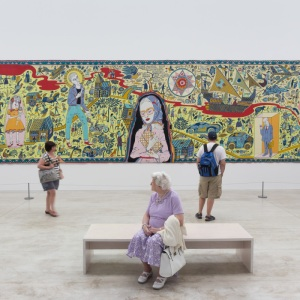 The Walthamstow Tapestry I. Grayson Perry: Provincial Punk. Turner Contemporary, Margate.