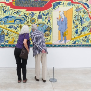 The Walthamstow Tapestry II. Grayson Perry: Provincial Punk. Turner Contemporary, Margate.