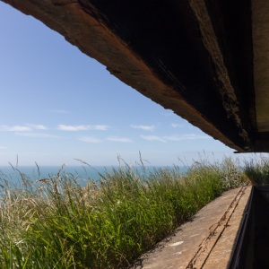 WW2 battery, Round Down Cliff III, Dover.
