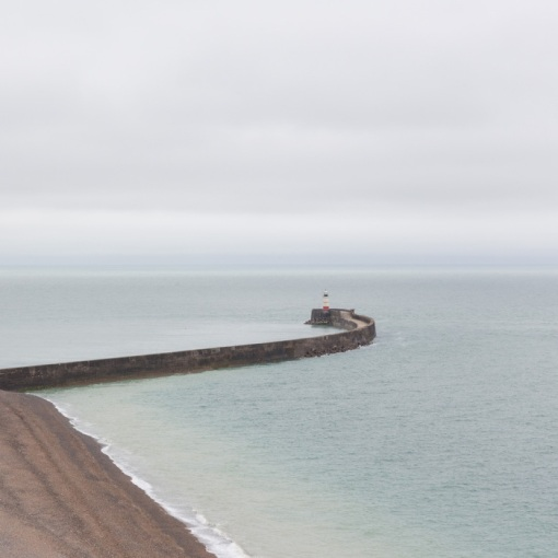 Newhaven Breakwater, Sussex.