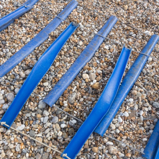 Boat sliders, Selsey, Sussex.