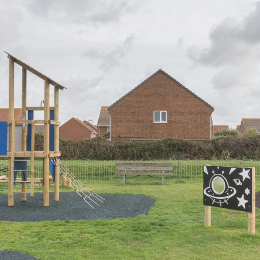 Playground, Selsey Bill, Sussex.