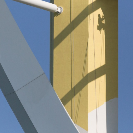Emirates Spinnaker Tower painting, Portsmouth, Hampshire.