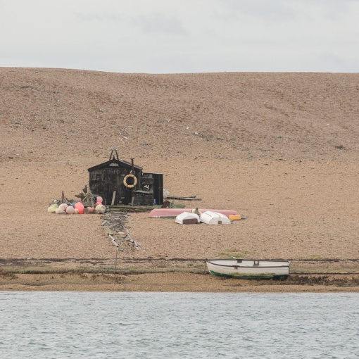 Chesil Beach II, Fishing Hut, Dorset.