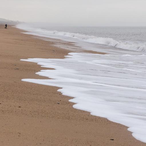 Burton Beach, Dorset.
