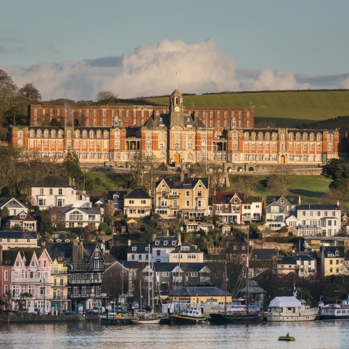 Britannia Royal Naval College, Dartmouth. Architect: Sir Aston Webb. c. 1899, Devon.