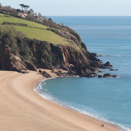 Blackpool Sands, Devon.