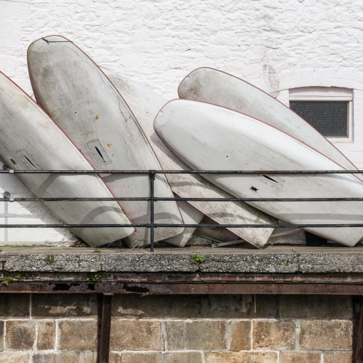 Dinghies, Plymouth, Devon.