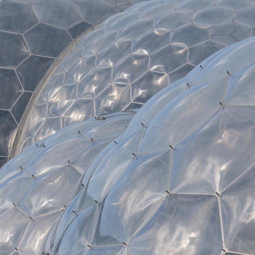 Eden Project Biomes, Cornwall.