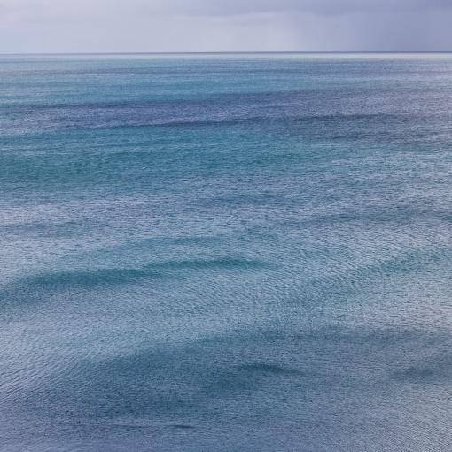 Seascape after the rain, Portloe, Cornwall.