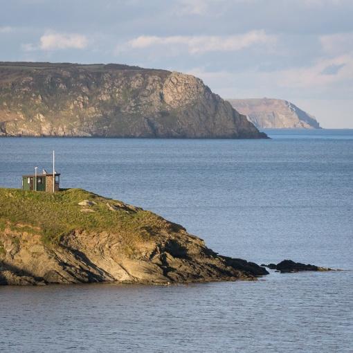 Pednvadan Lookout Station, Nare Head & Dodman Point, Cornwall.