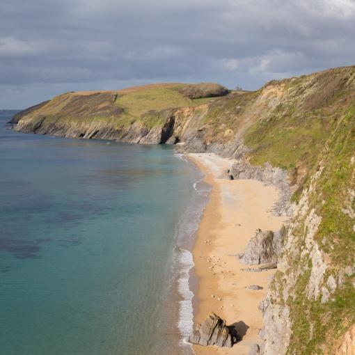 Porthbeor Beach, Cornwall.