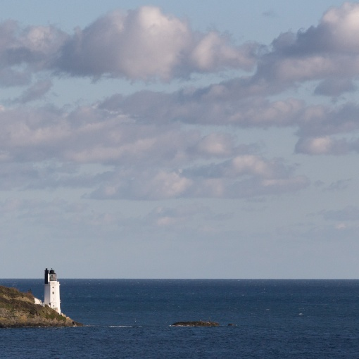 Lighthouse, St Anthony head, Cornwall.